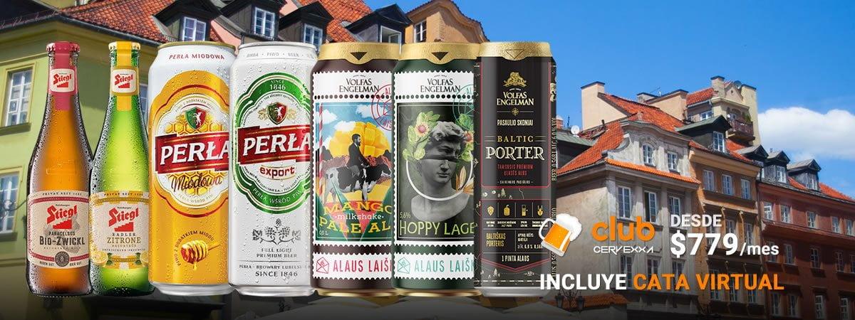 Club Cervexxa Cervezas Europeas